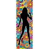 1art1 61572 Schöne Frauen - Silhouette II, Flower Power Tanz Poster Kunstdruck 91 x 30 cm