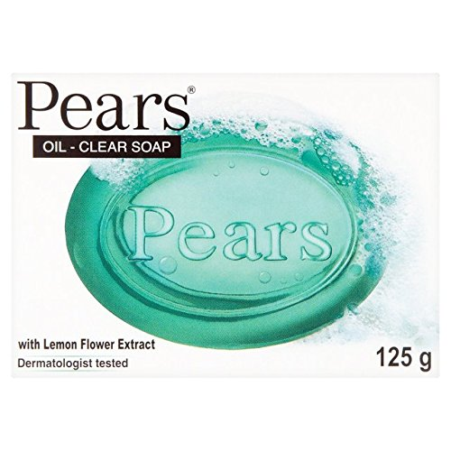Pears Savon, Lemon Flower, transparent, Pure & Gentle, 125 g