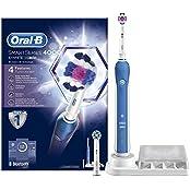 Oral-B SmartSeries 4000 Elektrische Zahnbürste, mit Bluetooth, Timer, 3DWhite und CrossAction Aufsteckbürsten