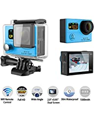 G3 Action Camera,Mini WIFI Action Camera G3 Sports Camcorders 1080P FULL HD DVR 170 Lens 2 LCD Waterproof Diving Outdoor Sport Cameras with Gopro Hero