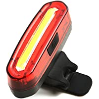 ANBIT USB ricaricabile Red Bicycle Fanale Posteriore Impermeabile COB 4