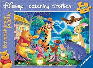 Ravensburger Puzzle - 1,000 Pieces - Winnie The Pooh - Catching Fireflies