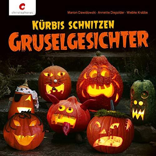 Halloween Kürbis Vorlagen - Kürbis schnitzen.