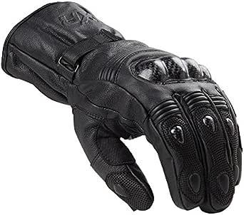 Dxr Motorradhandschuhe Lang Motorrad Handschuh Carbon Winterhandschuh Schwarz Xl Herren Sportler Ganzjährig Leder Bekleidung