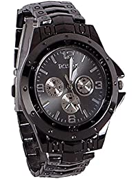 Rosra All Black Stylish Analog Watch For Boys/mens