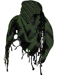 Palästinenser Tuch Schal - Schwarz Army Grün