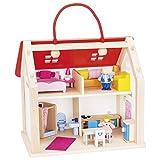 Goki 51780Koffer Puppenhaus mit Zubehör