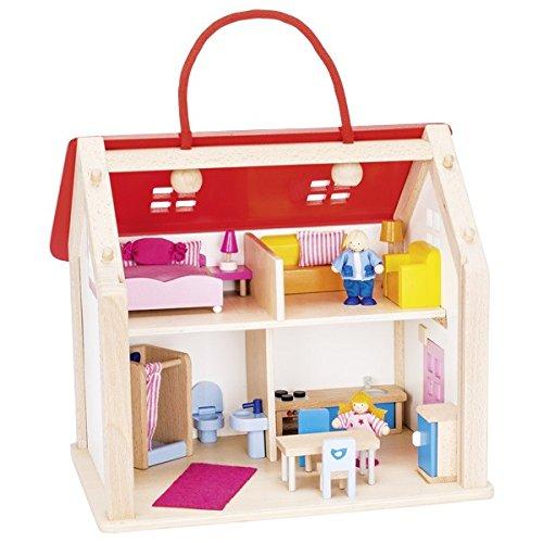 Galleria fotografica Goki 51780Valigia con Accessori casa delle Bambole