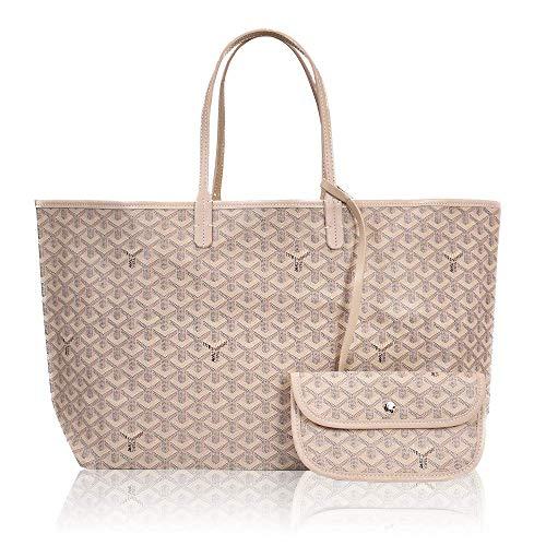 Gleyaed Grand sac fourre-tout, sac fourre-tout à manches longues, sac à bandoulière pour dames, sac à main de grande capacité, sac à main de mode, sac à provisions pour dames