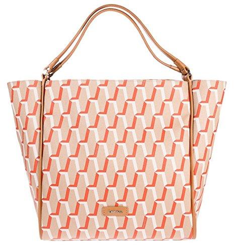 Calvin Klein Jacqueline Medium Tote Bag, Tangerine, 36 x 31 x 14