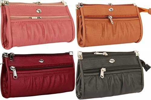 Awesome Fashions Women's Wallets (Multicolor, Pack of 4)