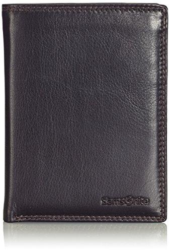 Samsonite 54795/1251 Special SLG - Wallet Leather - Kredit Card Münzbörse, Schwarz -