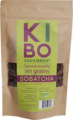KIBO Sarrasin torréfié en grains 100g