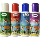 Anti-Chlorine + General Aid + Anti-Ich + Anti Fungus Rid-All Aquarium Fishes - 120 Ml (4 Bottles)