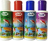 #5: Anti-Chlorine + General Aid + Anti-Ich + Anti Fungus Rid-All Aquarium Fishes - 120 Ml (4 Bottles)
