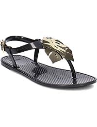 LEMON JELLY Mirage Sandali con Cinturino alla Caviglia Donna Nero m7o