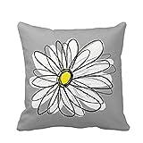LHWY 45cm*45cm Comfortable Soft Flower pattern Pillow Case Cushion Cover Home Decor Sofa Waist Throw