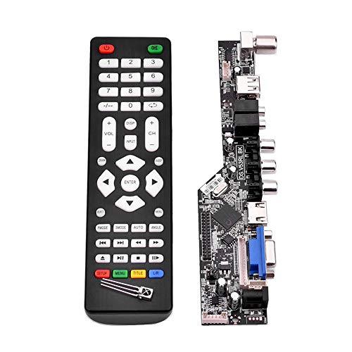 Festnight V53 LCD Controller Board Universal TV Treiberplatine TV VGA AV HDMI USB DS.V53RL.BK Unterstützung 1920 * 1080 TSUMV53RUUL -