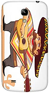 Timpax protective Armor Hard Bumper Back Case Cover. Multicolor printed on 3 Dimensional case with latest & finest graphic design art. Compatible with Samsung I9190 Galaxy S4 mini Design No : TDZ-28154