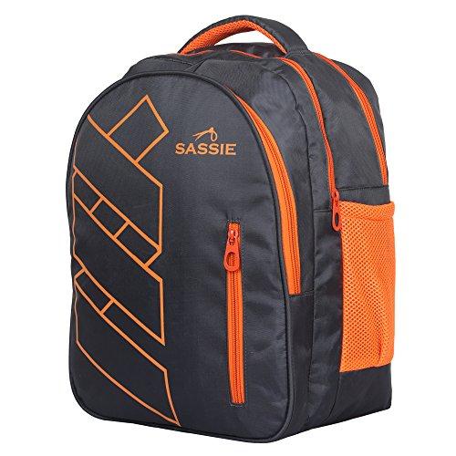 Sassie Grey Polyester 41 Ltr School Backpack Image 3