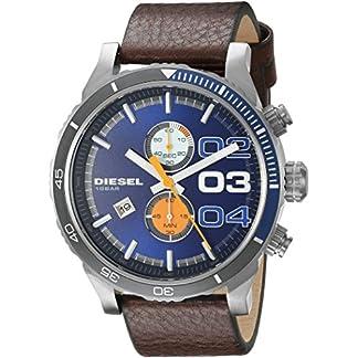 Diesel Double Dow Analog Blue Dial Men's Watch – DZ4350