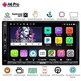 ATOTO A6 Android Auto Navigation Stereo with 2X Bluetooth & Telefon Schnellladung - PRO A6Y2721PRB-G 2DIN In Dash Unterhaltung Multimedia Radio,WiFi,Gestenbedienung, Unterstützung 256G SD &mehr