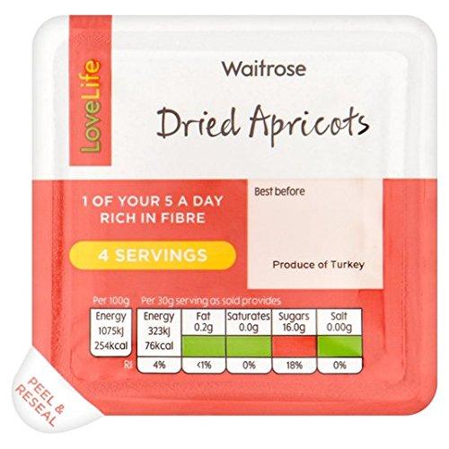 Love Life Abricots séchés Waitrose 120g