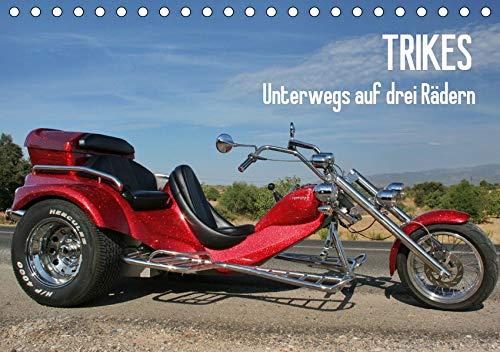 Trikes - Unterwegs auf drei Rädern (Tischkalender 2020 DIN A5 quer): Ein Motorisiertes Dreirad (Monatskalender, 14 Seiten ) (CALVENDO Mobilitaet)