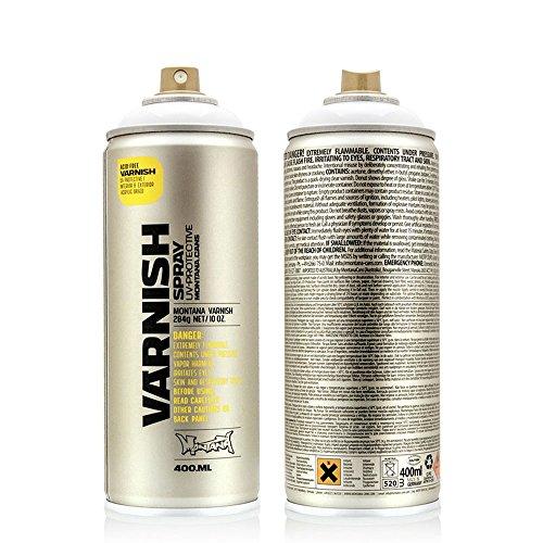 Montana TECH T1005 400 ml Sprühdose, Klarlack seidenmatt - Montana-spray