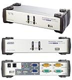 Aten Dual View KVM Switch (2-Port, VGA, Audio-Port, USB)