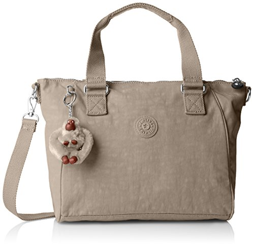 kipling-amiel-womens-shoulder-bag-grau-warm-grey-one-size