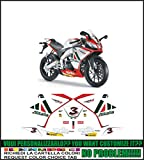 Emanuel & Co Kit adesivi decal stickers aprilia rs4 125 2011 replica alitalia max biaggi (ability to customize the colors)
