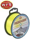 WFT Zielfisch Pilken & Boot 250m 0,40mm 11,8kg gelb - Angelschnur zum Meeresangeln, Monofile Schnur...