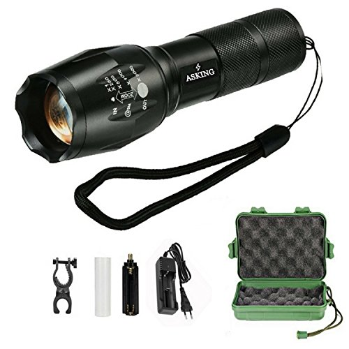 torche-lampe-de-poche-elking-led-ultra-puissante-zoomable-rechargeable-avec-5-modes-intensite-lumine