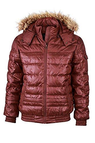 Men's Padded Winter Jacket im digatex-package Dark-Red