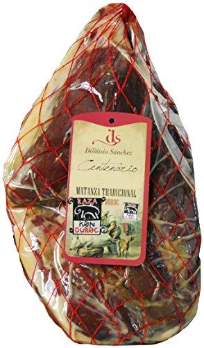 Prosciutto serrano crudo duroc centenario dionisio sánchez disossato e pulito 4 - 4.5 kg | jamon serrano spagnolo