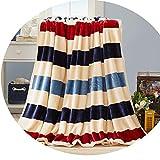 Blanket Thick Winter Velvet, Flannel Warm Sheets,Stripe,120 X200Cm1. 6
