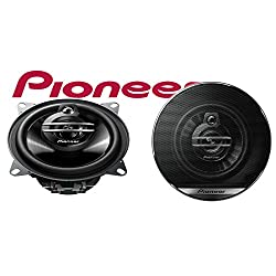 Pioneer TS-G1030F 10 cm (3,9 Zoll) Koax Lautsprecher (3-Wege, 210W) schwarz