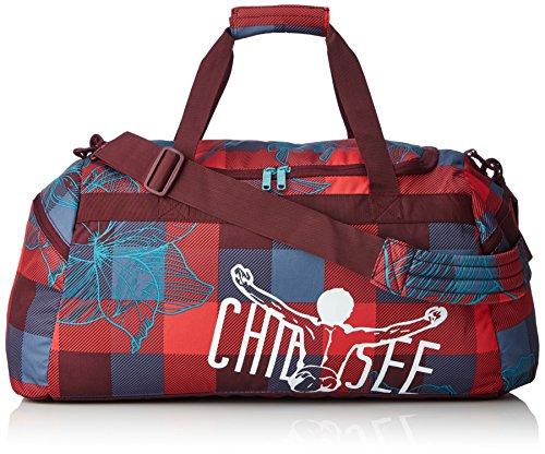 Chiemsee Unisex Reisetasche / Sporttasche Matchbag Large Mehrfarbig (Checks Floral)