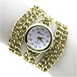 Typify Analogue Gold Dial Women's Watch ...