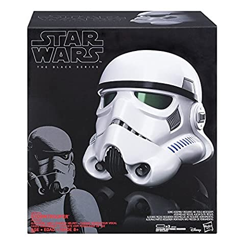 Star Wars b9738eu40la série Noir Imperial Stormtrooper modificateur de voix électronique Casque (Taille unique)