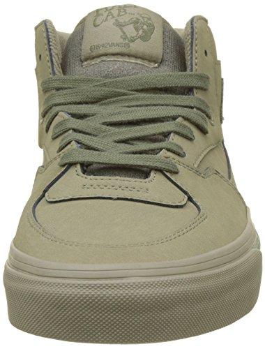 Vans Half Cab, Baskets Hautes Mixte Adulte Vert (Mono Buck)