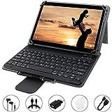 Tablet 10 Pollici GOODTEL Android 8.1, RAM da 4 GB, ROM da 64 GB, Quad-Core, G3 Tablet PC 4G LTE Dual SIM Call, Doppia Fotocamera, MicroSD Espandibile, Type-C, WiFi GPS Bluetooth Media, grigio