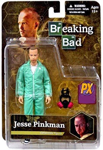 Breaking Bad Jesse Pinkman Azul Hazmat Traje Versión 15 cm Figura de acción Original Mezco Juguetes - Figura Jesse Pinkman Azul Hazmat (15 cm)