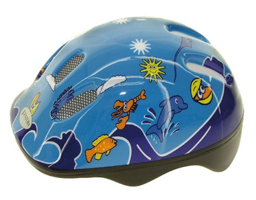 ventura-sea-world-casco-da-bambino-50-57-cm-blu-50-57-cm