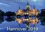 Hannover 2019 (Tischkalender 2019 DIN A5 quer): Hannover - Dämmerung/Nacht (Monatskalender, 14 Seiten ) (CALVENDO Orte) - Joachim Hasche