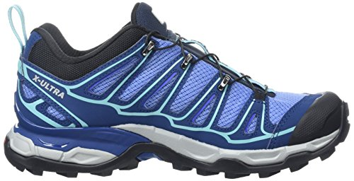 Salomon X Ultra 2, Chaussures de Football Femme Bleu (Petunia Blue/Midnight Blue/Wild Violet)
