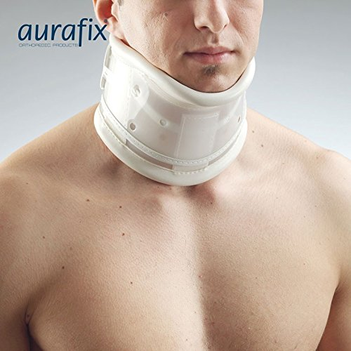 Halskrause mit Kinnstütze, Anatomischer Schnitt für maximale Unterstützung für den Hals und Nacken