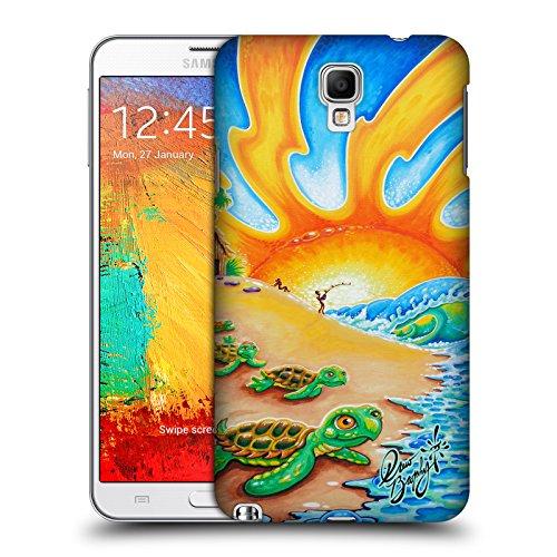 Offizielle Drew Brophy Turtle Beach Surf-Kunst 2 Ruckseite Hülle für Samsung Galaxy Note 3 Neo