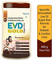 Konverge EVD Gold Sugar Free Protein Supplement with ProHydrolase for Diabetic & Cardiac Care | Cholestero